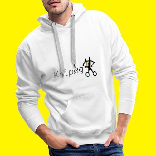 Knip gLogo - Mannen Premium hoodie