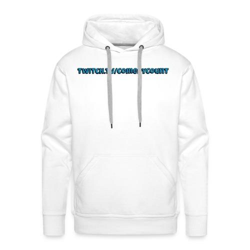 TWITCH - Herre Premium hættetrøje