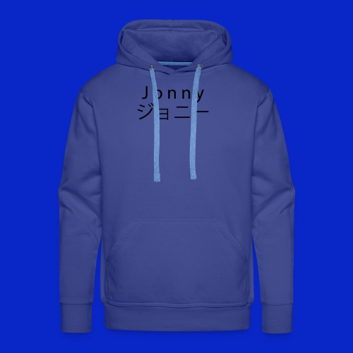 J o n n y (black) - Men's Premium Hoodie