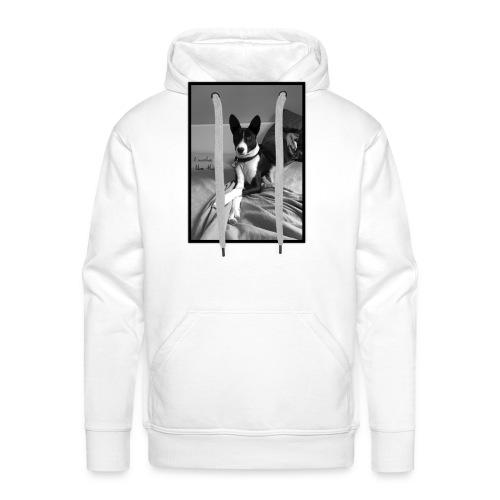 Piratethebasenji - Sweat-shirt à capuche Premium pour hommes