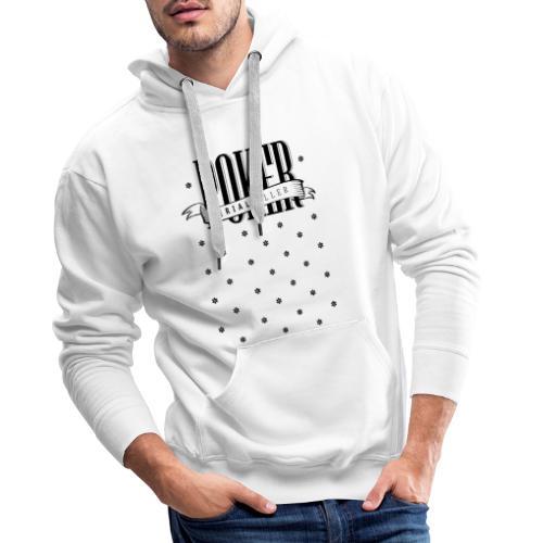Shark Poker Tee-Shirt Design - Sweat-shirt à capuche Premium pour hommes