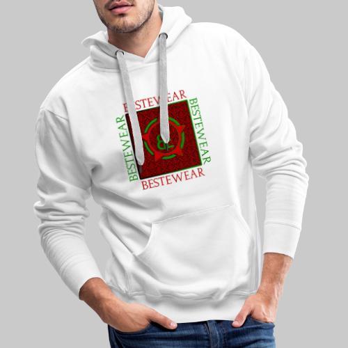 #Bestewear - Royal Line (Green/Red) - Männer Premium Hoodie