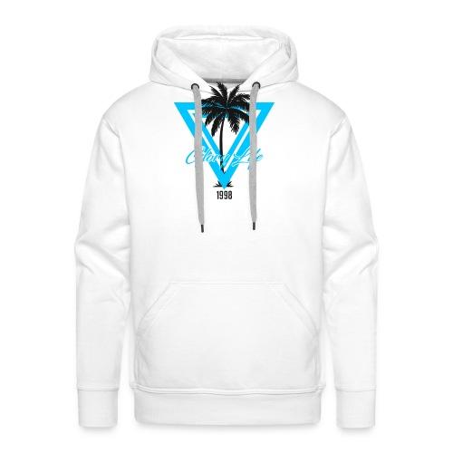 Triangle Palm 1998 - Sweat-shirt à capuche Premium pour hommes
