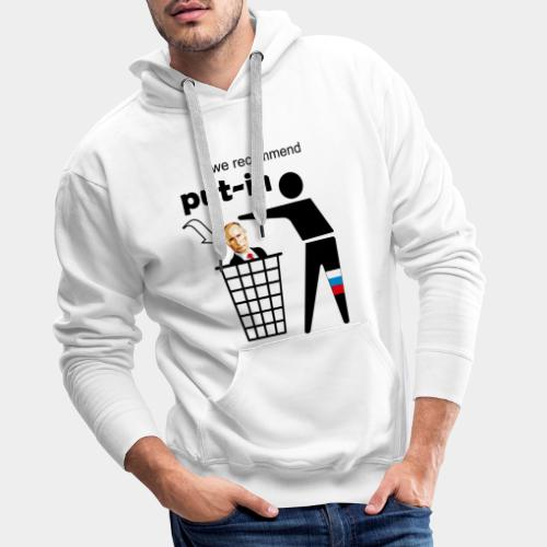 GHB Put in for recycling 190320182 - Männer Premium Hoodie