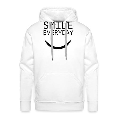 smile everyday - Männer Premium Hoodie