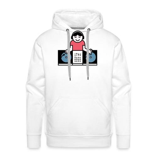 Vinyl DJ - Mannen Premium hoodie