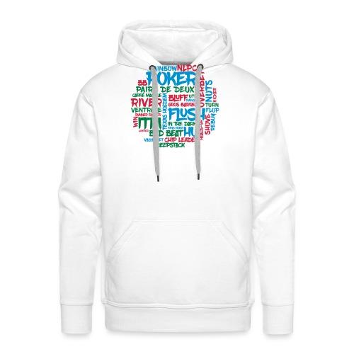 Poker - Sweat-shirt à capuche Premium pour hommes