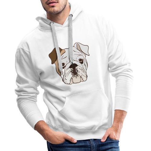 bulldog Ingles - Sudadera con capucha premium para hombre