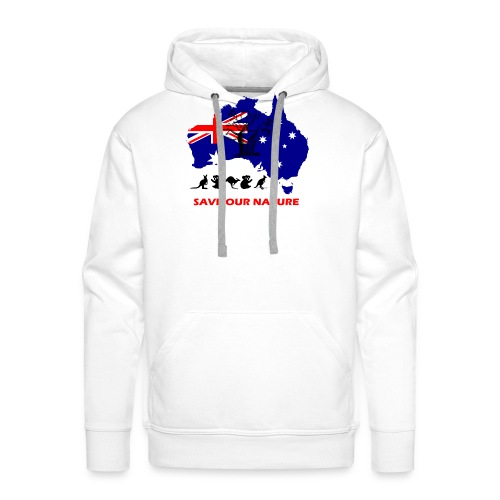 Australien - RETTE LEBEN - JETZT! - Männer Premium Hoodie