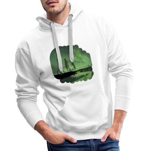 Noorderlicht reflectie - Sweat-shirt à capuche Premium pour hommes