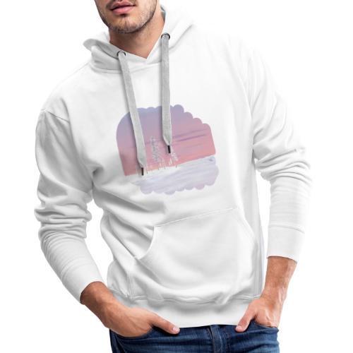 Un printemps précoce - Sweat-shirt à capuche Premium pour hommes
