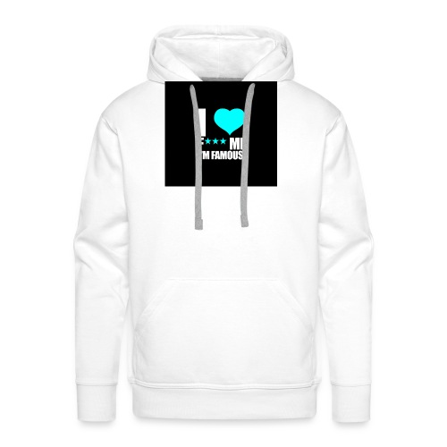 I Love FMIF Badge - Sweat-shirt à capuche Premium pour hommes