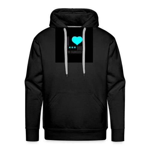 I Love FMIF Badge - Sweat-shirt à capuche Premium pour hommes