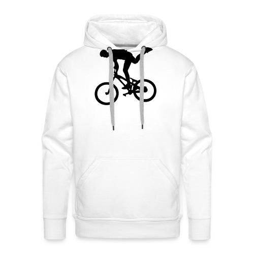 One Foot - Sweat-shirt à capuche Premium pour hommes