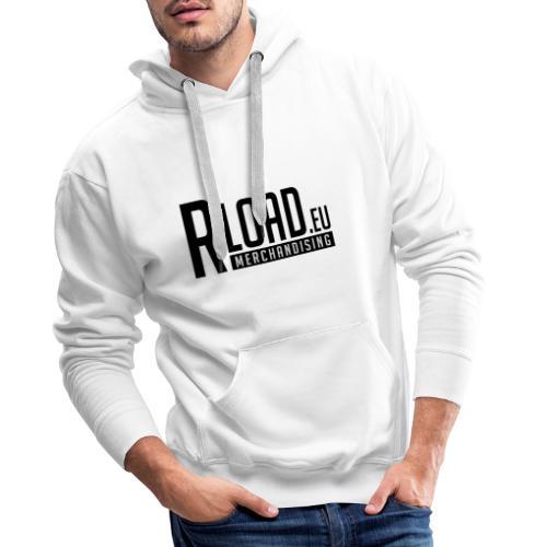 Logo Merchandising (Nero) - Felpa con cappuccio premium da uomo