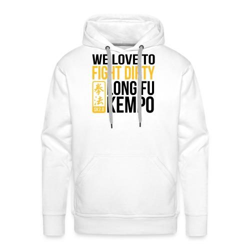 fight dirty - Mannen Premium hoodie