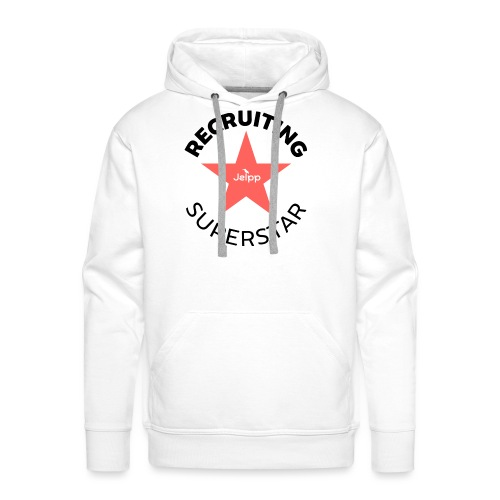 Recruiting Superstar - Miesten premium-huppari