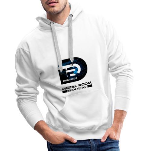 Digital Room Records Official Logo effect - Men's Premium Hoodie