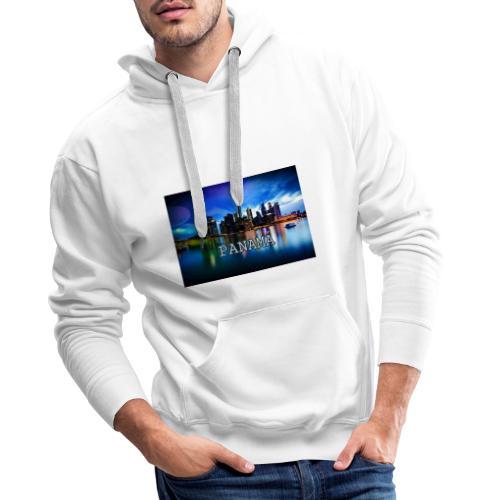 Panamá - Sudadera con capucha premium para hombre