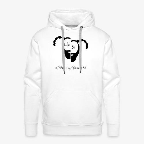 LIEBE - Männer Premium Hoodie