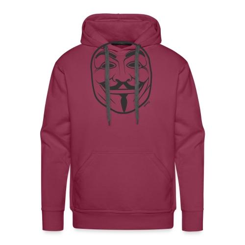 *NEW* Anonymous (H) - Sweat-shirt à capuche Premium pour hommes