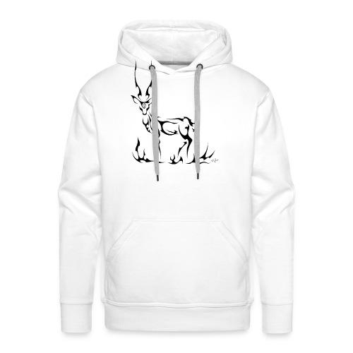 Antilope - Sweat-shirt à capuche Premium pour hommes