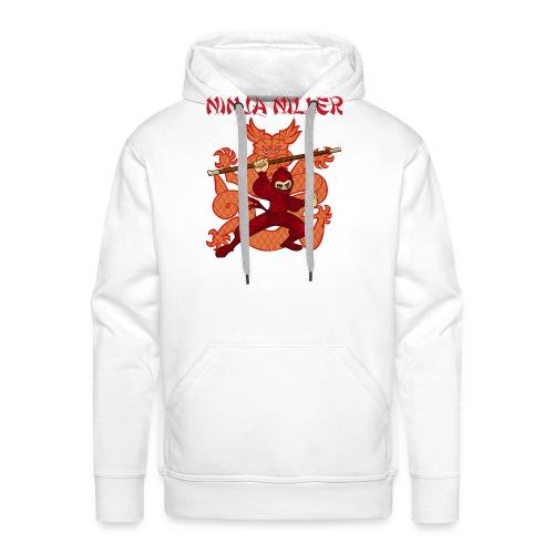 Ninja Niller t-shirt - Herre Premium hættetrøje