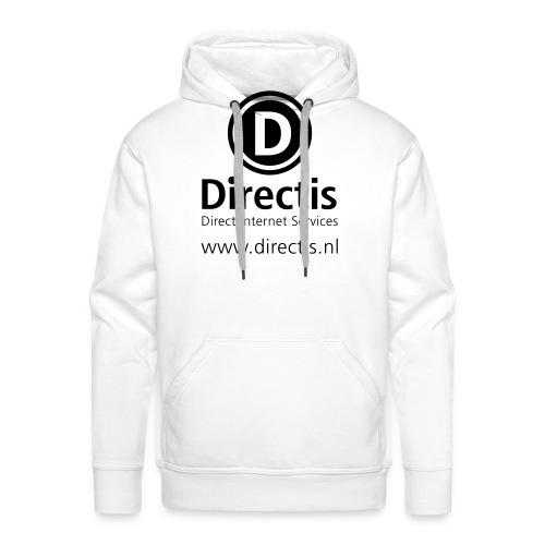 directis logoallblack203 - Mannen Premium hoodie