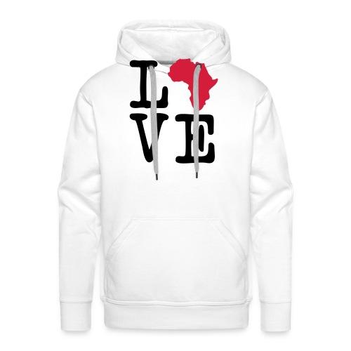 I Love Africa, I Heart Africa - Men's Premium Hoodie