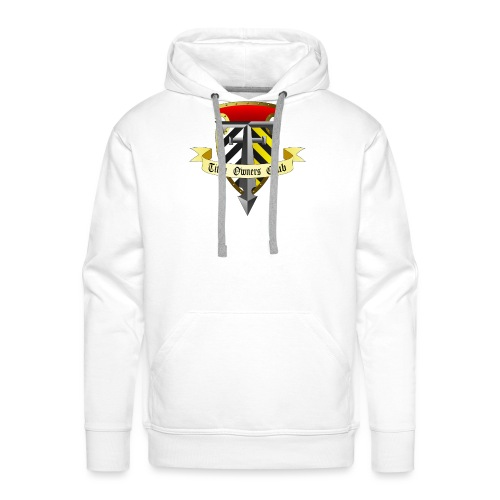 TOC Gothic Clear Background 1 - Men's Premium Hoodie