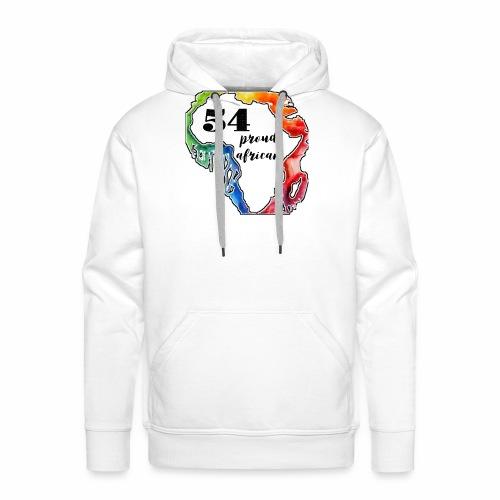 54 Proud African Design - Mannen Premium hoodie