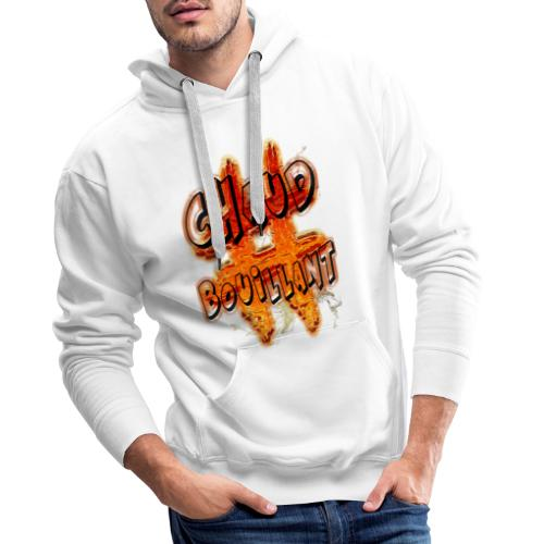 H-Tag Chaud Bouillant - Sweat-shirt à capuche Premium pour hommes