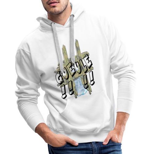 H-Tag Gueule - Sweat-shirt à capuche Premium pour hommes
