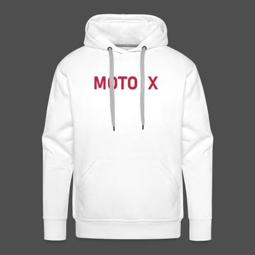 moto x - Männer Premium Hoodie