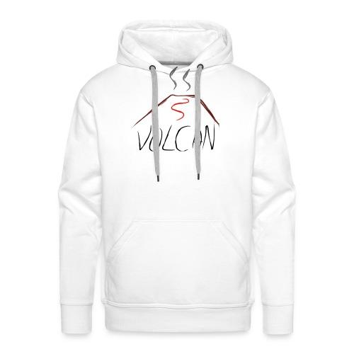 Volcan - Sudadera con capucha premium para hombre