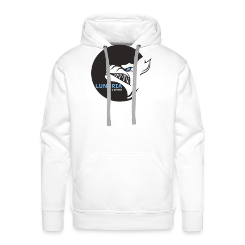 Lunaria_Logo tete pleine - Sweat-shirt à capuche Premium pour hommes