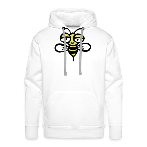 Be happy as a bee or wasp - Men's Premium Hoodie