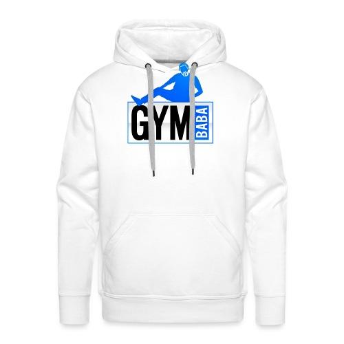 gym-baba-2 dgrd - Sweat-shirt à capuche Premium pour hommes