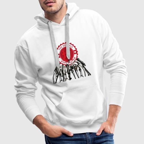 THEGENITALS - Herre Premium hættetrøje