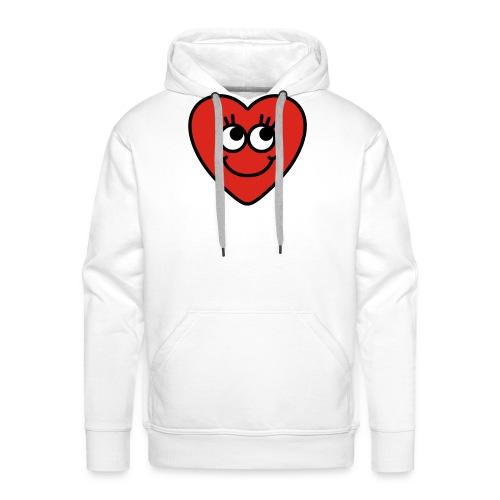 love hart - Mannen Premium hoodie