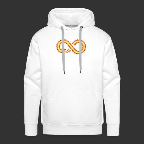 Infinity Snake - Sweat-shirt à capuche Premium pour hommes