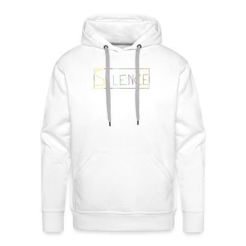Silence - Sweat-shirt à capuche Premium pour hommes