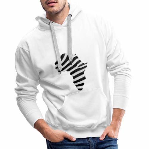 Africa wild Z 1 - Sweat-shirt à capuche Premium pour hommes