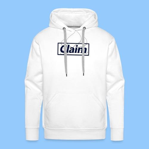 Claim Logo - Männer Premium Hoodie