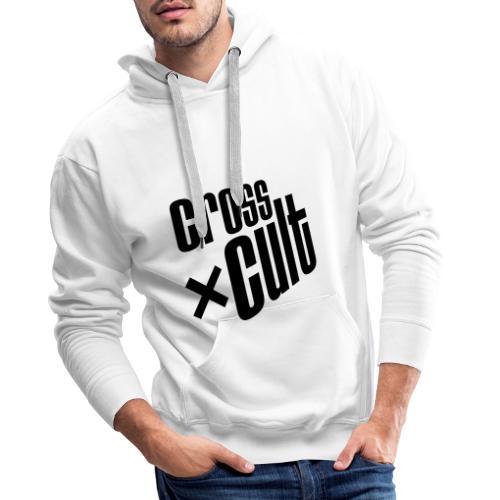 Cross Cult Logo Schwarz - Männer Premium Hoodie