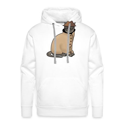 Secret cat - Men's Premium Hoodie