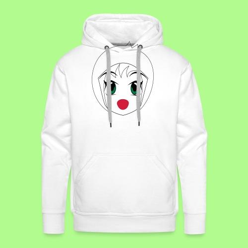 Anime girl T-Shirt - Men's Premium Hoodie