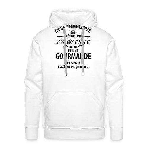 cxvxg - Sweat-shirt à capuche Premium pour hommes