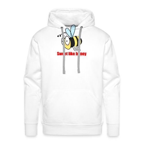 Sweet like honey - Biene - Männer Premium Hoodie