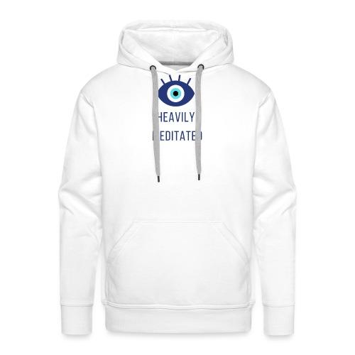 Heavily meditated yoga T-shirt - Mannen Premium hoodie